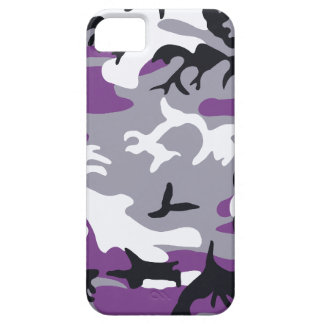 Purple Camouflage Barely There™ iPhone 5 Case
