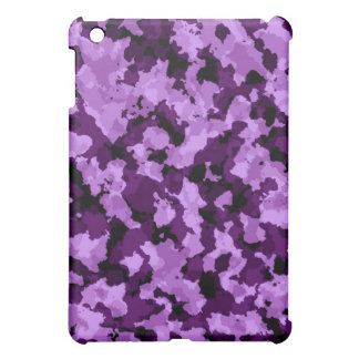 Purple Camouflage iPad Case