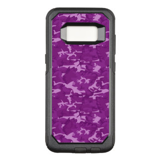Purple Camouflage OtterBox Commuter Samsung Galaxy S8 Case