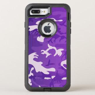 Purple Camouflage OtterBox Defender iPhone 7 Plus Case
