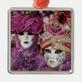 Purple Carnival costume, Venice Christmas Ornament