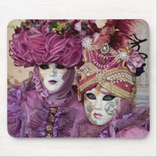 Purple Carnival costume, Venice Mouse Mat