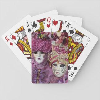 Purple Carnival costume, Venice Poker Deck