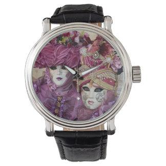 Purple Carnival costume, Venice Wristwatch