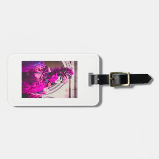 Purple carnival mask in Venice Luggage Tag