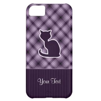 Purple Cat Cover For iPhone 5C