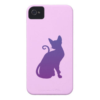 Purple Cat iPhone 4 Covers