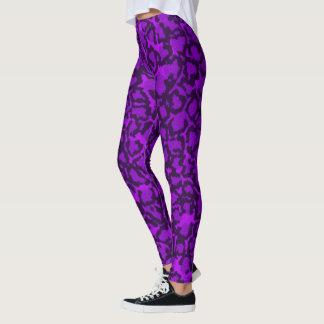 Purple Cat Leggings