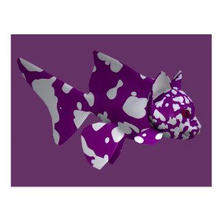 Purple Catfish Postcard