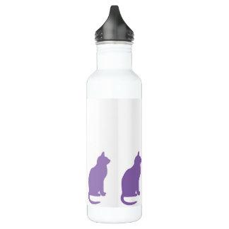 Purple Cats 710 Ml Water Bottle