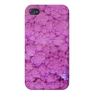 Purple cauliflower for sale case for the iPhone 4