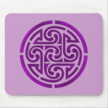 Purple Celtic Knot Design