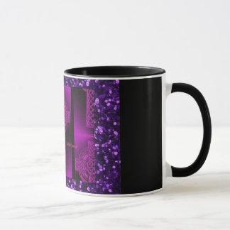 purple celtic mug