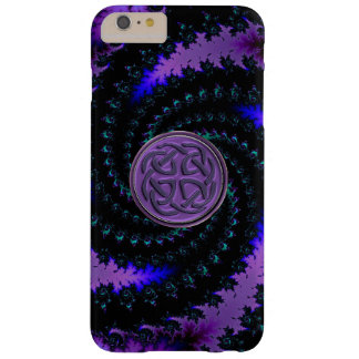 Purple Celtic Spiral Fractal iPhone 6 Case