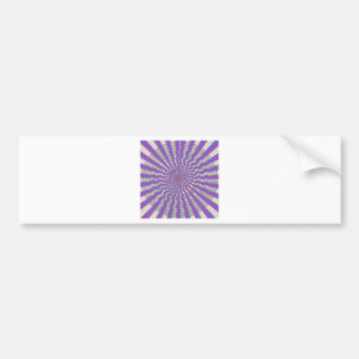 PURPLE Chakra Wave - Navin s Signature style Bumper Sticker
