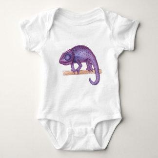 Purple Chameleon Baby Bodysuit