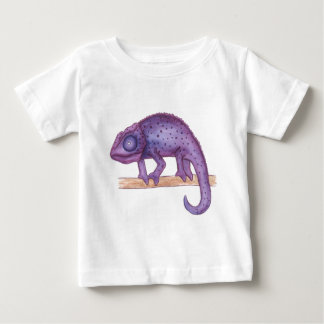 Purple Chameleon Baby T-Shirt