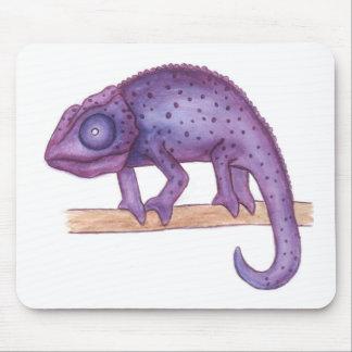 Purple Chameleon Mouse Mat