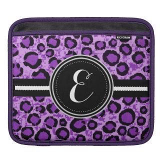 Purple Cheetah Animal Print Personalized Case