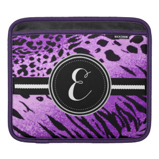 Purple Cheetah Animal Print Personalized Case