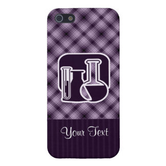 Purple Chemistry Case For iPhone 5