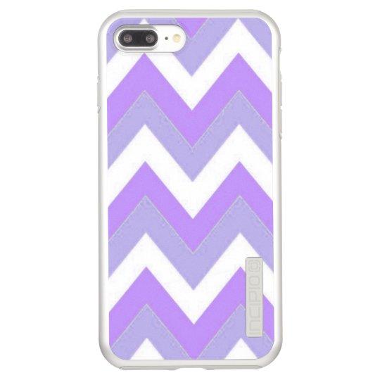 Purple Chevron Incipio DualPro Shine iPhone 8 Plus/7 Plus Case