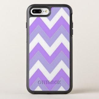 Purple Chevron iPhone 8 Plus/7 Plus Otterbox Case