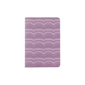 Purple Chevron Passport Holder