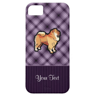 Purple Chow Chow iPhone 5 Covers
