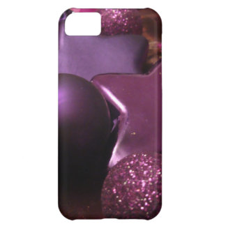 Purple Christmas iPhone 5C Case