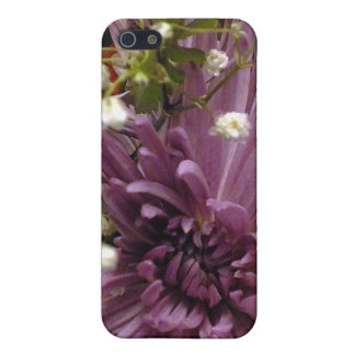 Purple Chrysanthemum iPhone 4 case