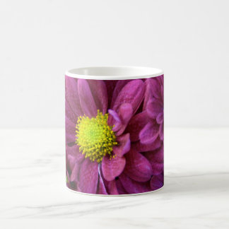Purple Chrysanthemums Basic White Mug