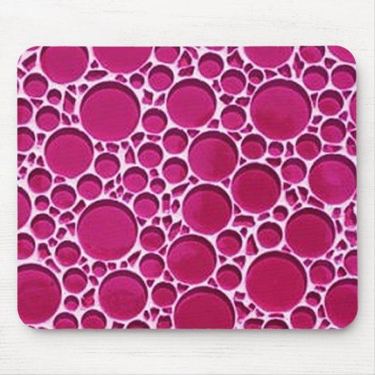 Purple Circle Design Mouse Pad