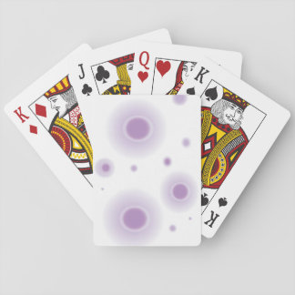 purple circles playing cards