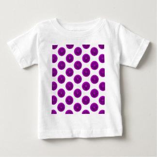 Purple Citrus Slice Polka Dots Tshirt