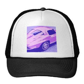 Purple Classic Split Window Corvette Cap