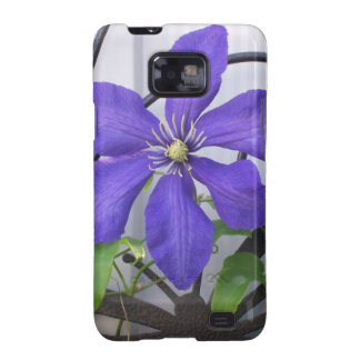 Purple Clematis Samsung Galaxy S2 Covers