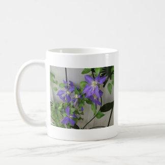 Purple Clematis Mug