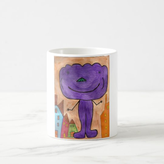 Purple Cloud Mug Cup Autism