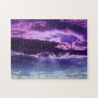 Purple Clouds Puzzle