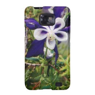 Purple Columbines Galaxy S2 Covers