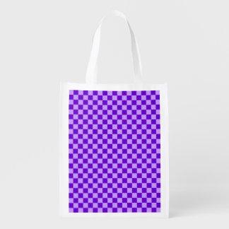 Purple Combination Diamond-Checkerboard