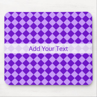 Purple Combination Diamond Pattern by STaylor Mouse Pad