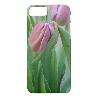 Purple Comfort Tulip iPhone 7 Case