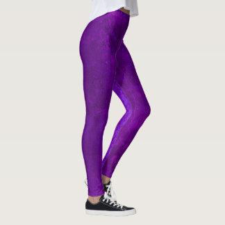 Purple Concrete Leggings