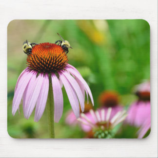 Purple Cone Flower Mouse Mat