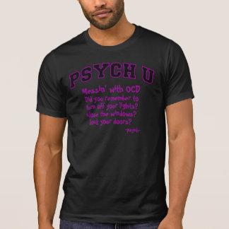 Purple contour PSYCH U OCD T Shirt
