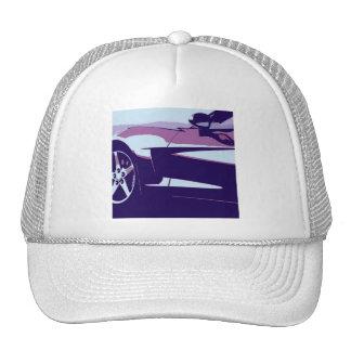 Purple Corvette Cap