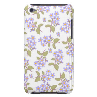 Purple Country Wildflowers iPod Touch Case