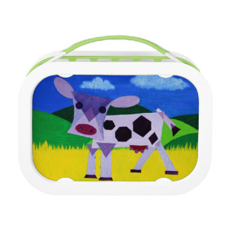 Purple Cow Lunch Boxes